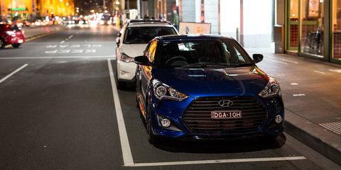Late-night eats in the 2016 Hyundai Veloster Street Turbo