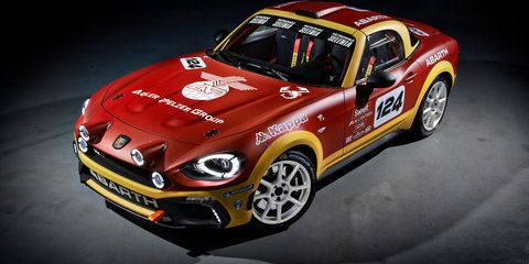 Abarth/Fiat 124 coupe under development - report UPDATE