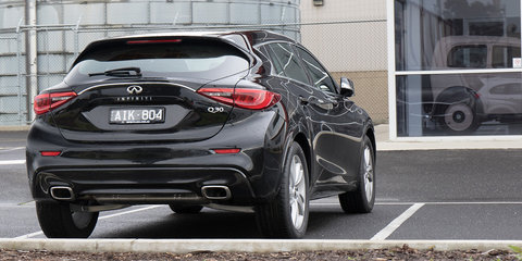2016 Infiniti Q30 snapped in Melbourne