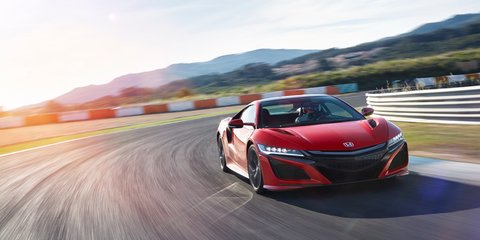 Honda NSX to spearhead big Australian branding campaign