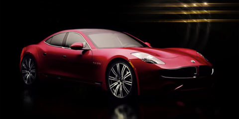 Karma Revero 'revealed': Fisker-based plug-in to debut in September - video