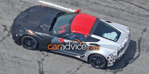 2017 Chevrolet Corvette ZR1 spied
