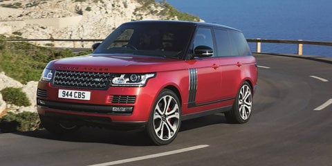 2017 Range Rover updated for Australia: New safety tech, infotainment, SVO sports variant