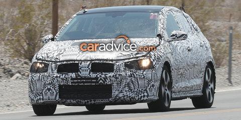 2017/2018 Volkswagen Polo GTI spied testing in California