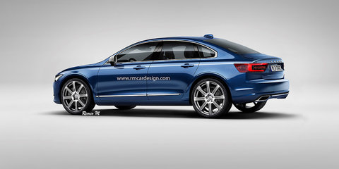 2018 Volvo S60 rendered