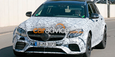 2017 Mercedes-AMG E63 S Estate spotted - Black Series or just black?