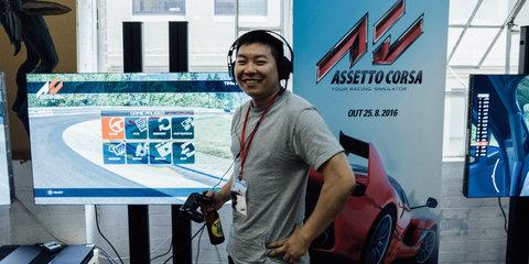 Meet Jin Tee: CarAdvice's Assetto Corsa aficionado attends console launch