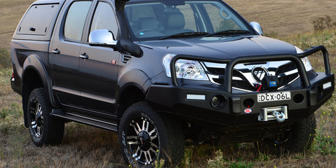 2016 Foton Tunland gets kitted out for Fishing and Boating Expo