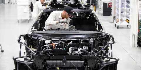 2017 Honda NSX: Australian models now in production