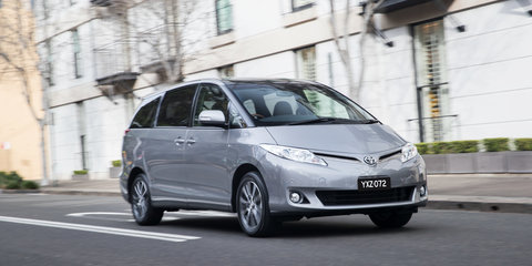 2016 Toyota Tarago pricing and features: Updated interior, Euro 5 engines, sharpened pricing