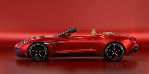2017 Aston Martin Vanquish Zagato Volante unveiled