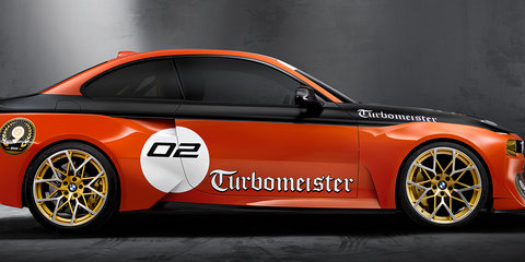 BMW 2002 Hommage 'Turbomeister' celebrates turbo racing at Pebble Beach