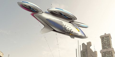 Airbus working on flying car project