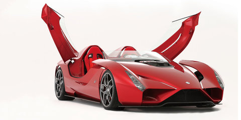 Kode57: Ferrari-based speedster unveiled in California