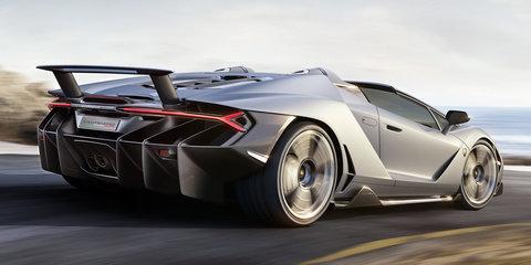 2017 Lamborghini Centenario roadster unveiled, already sold out