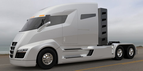 Nikola CEO takes aim at Tesla, Mercedes-Benz: Electric truck claims zero-emissions 1000-mile range
