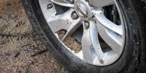 Why should I lower my tyre pressure when driving off-road?