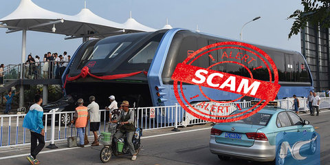 """Chinese media outlets slam Transit Elevated Bus """"scam"""" - report"""