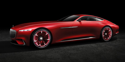 Vision Mercedes-Maybach 6 concept unveiled and detailed