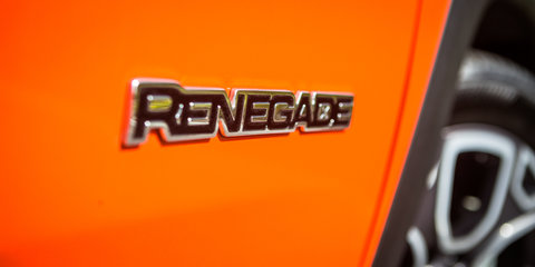 Jeep working on entry four-wheel-drive Renegade for Australia