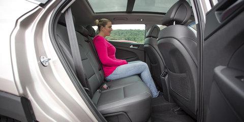 Medium SUV Comparison: Hyundai Tucson Highlander v Mazda CX-5 GT v Renault Koleos Intens v Volkswagen Tiguan 132TSI Comfortline