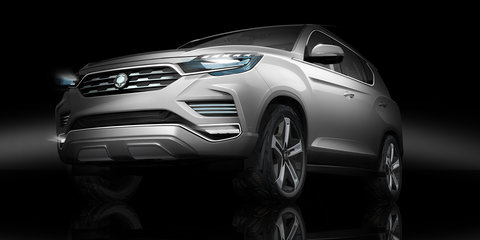 SsangYong to preview new Rexton in Paris with LIV-2 concept