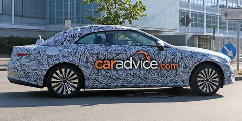 2017 Mercedes-Benz E-Class Cabriolet cuts back the camouflage