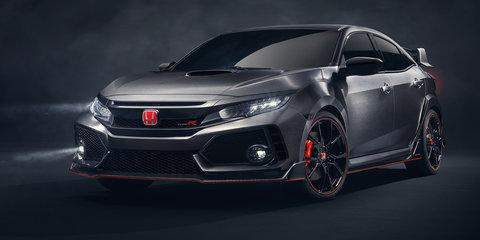 2017 Honda Civic Type R spied in Australia