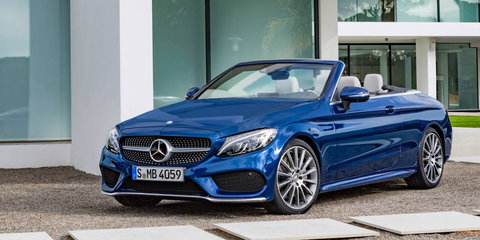 2017 Mercedes-Benz C-Class Cabriolet pricing and specs: Topless two-door due in October
