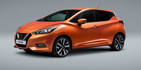 2017 Nissan Micra revealed in Paris