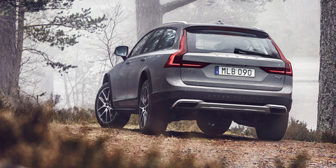 2017 Volvo V90 Cross Country: Australian pricing and details revealed online - UPDATE