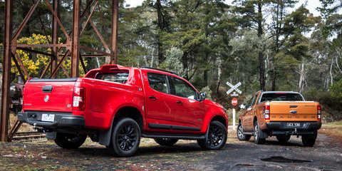Ford Ranger Wildtrak v Holden Colorado Z71 comparison