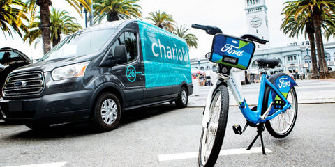 Ford announces shuttle service, bike-sharing program in San Francisco: Melbourne could be next