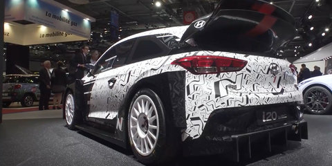 2017 Hyundai i20 World Rally Championship car (WRC) Walk Around - 2016 Paris Motor Show