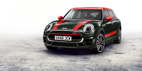 Mini JCW Clubman set for Australia, will debut at Paris motor show