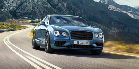 2017 Bentley Flying Spur W12 S revealed ahead of Paris debut