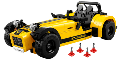 Lego Caterham 7 620R kit revealed