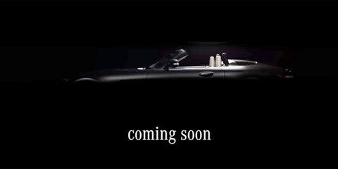 2017 Mercedes-AMG GT C roadster teased ahead of Paris debut