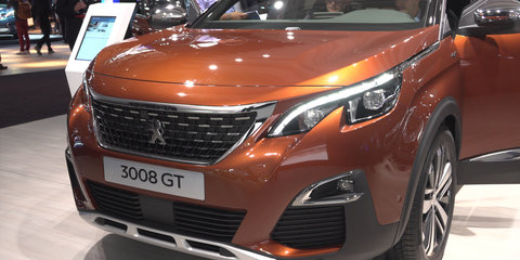 2017 Peugeot 3008 and 5008 SUV - 2016 Paris Motor Show