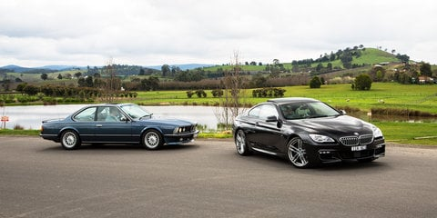 BMW 6 Series Old v New: 2016 650i v 1984 635CSi