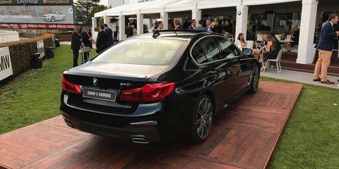 2017 BMW 5 Series G30: Australian first-look walkaround