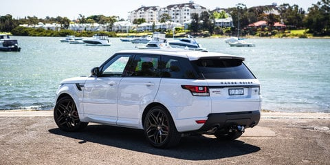 Range Rover can stretch to passenger cars