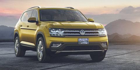 Volkswagen Atlas seven-seat SUV revealed