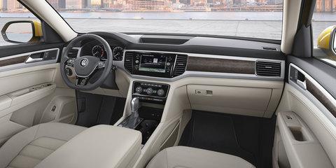 """Volkswagen Atlas accessorises, Australian launch """"increasingly unlikely"""""""
