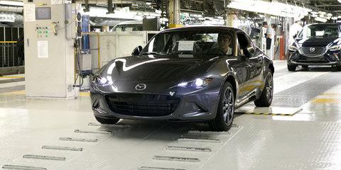 Mazda MX-5 RF finally enters production, Australia launch early 2017