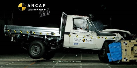 Toyota Landcruiser 70 Series, Prius awarded five-star ANCAP ratings