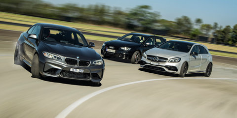 BMW Australia's M Division booming, but Mercedes-AMG and Audi have the edge