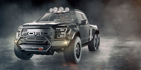 Hennessey VelociRaptor: 6x6 Ford F-150 Raptor unveiled