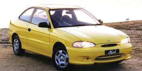 1999 Hyundai Excel Sprint Review Review
