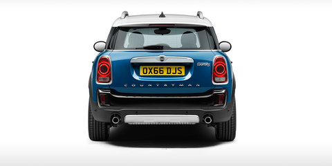 2017 Mini Countryman revealed: More space, more tech and PHEV drivetrain for all-new SUV - UPDATE
